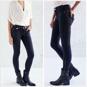 BDG Jefferson Skinny Moto Pants Black
